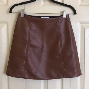 Aritzia Babaton Modern Mini Skirt